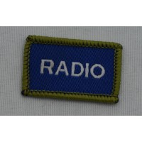 Cadet Radio User (CRU) Badge